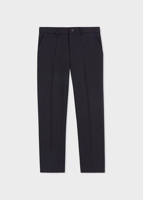 Paul Smith 12-16 Years Navy 'A Suit To Smile In' Wool Trousers
