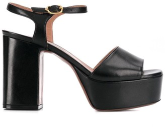 L'Autre Chose block heel platform sandals