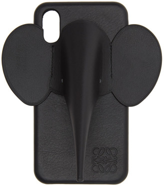 Loewe Black Elephant iPhone XS Max Case