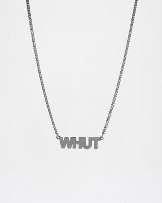 Nicole Miller Whut Cutout Necklace