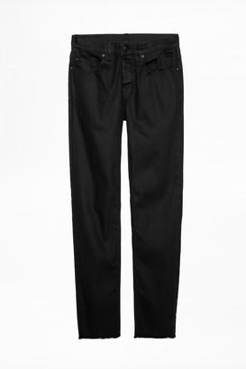 Zadig & Voltaire David Crop Noir Jeans