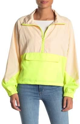CODEXMODE Funnel Neck Windbreaker Jacket