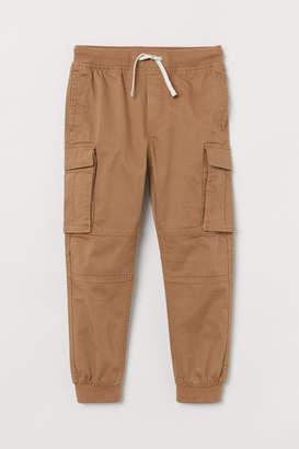 H&M Cargo Pants - Beige