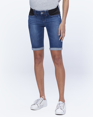 Paige Maternity Jax Knee Short-Delmont