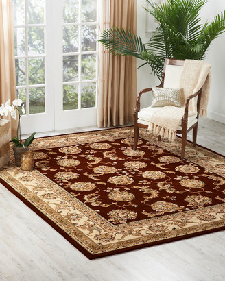 Nourcouture Red River Hand-Tufted Rug 4' x 6'