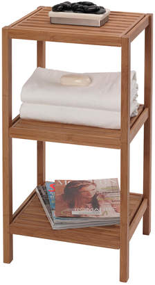 Creative Bath 3 Shelf Bamboo Tower
