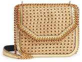 stella-mccartney-falabella-woven-metallic-faux-leather-shoulder-bag