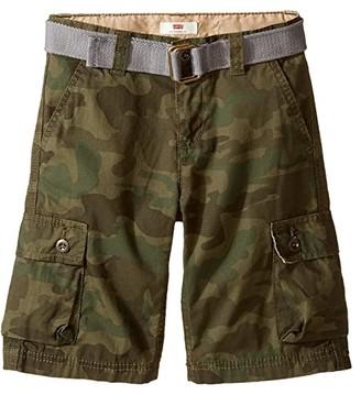 Levi's Kids Westwood Cargo Shorts (Little Kids) (Camo) Boy's Shorts
