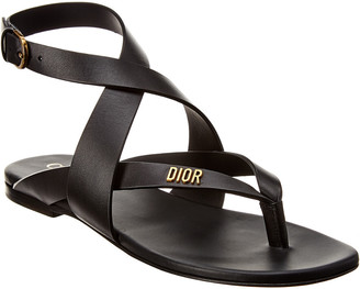 Christian Dior Leather Sandal