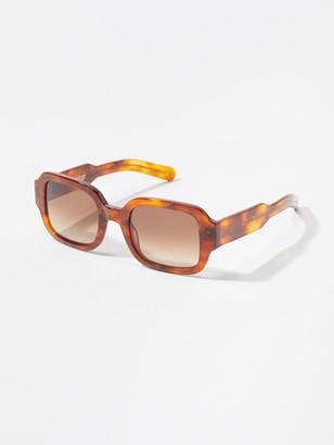 Flatlist Tishkoff Square Sunglasses