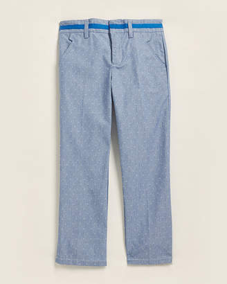 (Boys 8-20) 4-Pocket Dot & Stripe Pants