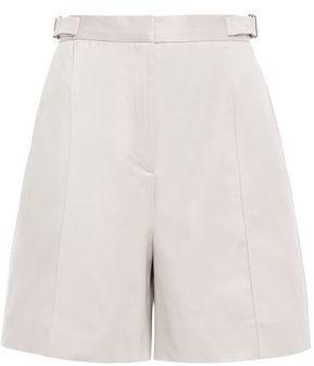 ALEXACHUNG Cotton-blend Drill Shorts