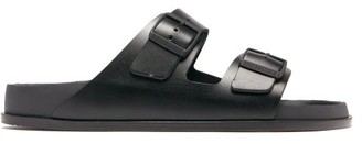 Birkenstock 1774 - Arizona Leather Sandals - Mens - Black