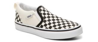 Vans Asher Checkers Slip-On Sneaker - Kids'