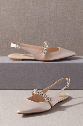 Badgley Mischka Soir Flats