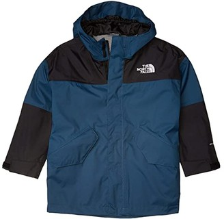 The North Face Kids Bowery Explorer Jacket (Little Kids/Big Kids) (Blue Wing Teal) Boy's Clothing
