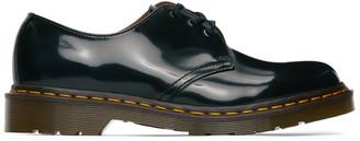 Comme des Garçons Homme Deux Navy Dr. Martens Edition Iridescent Leather Derbys