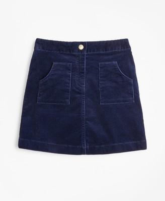 Brooks Brothers Girls Corduroy Skirt