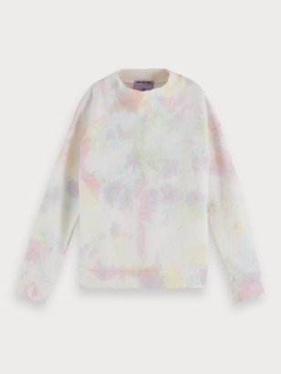 Scotch & Soda Tie Dye Sweatshirt   Girls