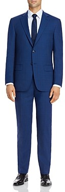 Hart Schaffner Marx New York Tonal Plaid Classic Fit Suit