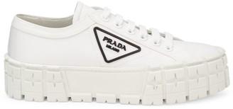 Prada Lug-Sole Platform Sneakers