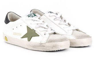 Golden Goose Kids Superstar low-top sneakers