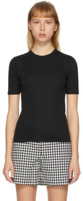 Rag & Bone Black The Rib Slim T-Shirt