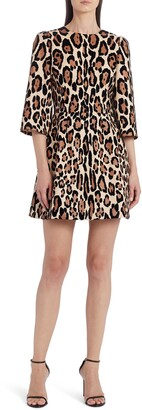 Dolce & Gabbana Leopard Print Minidress