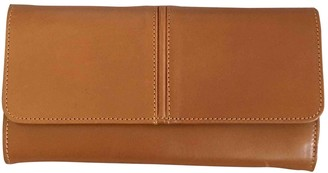 A.P.C. Camel Leather Wallets
