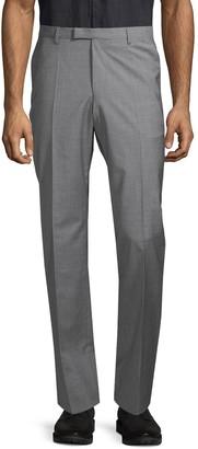 HUGO BOSS Standard-Fit Wool & Cashmere Dress Pants