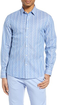 Zachary Prell Sabin Fil Coupe Button-Up Shirt