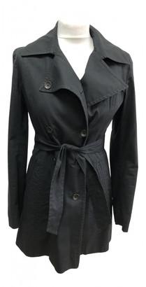Rag & Bone Black Cotton Trench coats