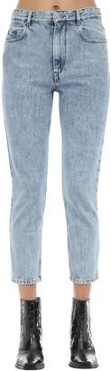 Etoile Isabel Marant Neaj Straight Leg Cotton Denim Jeans