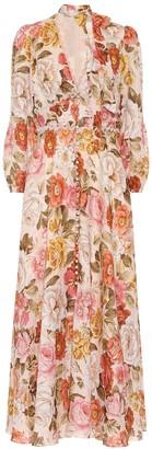 Zimmermann Bonita floral linen dress