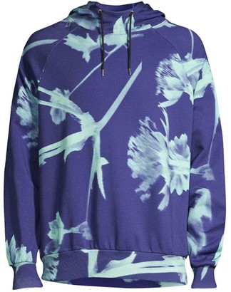 Paul Smith Floral Shadow Hoodie