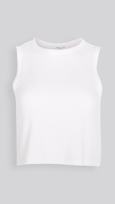 Rag & Bone The Knit Rib Cropped Tank