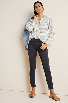 AG Jeans The Stevie Low-Rise Skinny Jeans By in Grey Size 24 P