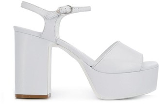 L'Autre Chose Heeled Platform Sandals