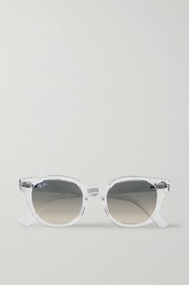 Ray-Ban Round-frame Acetate Sunglasses - Clear