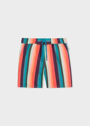 Paul Smith 2-6 Years 'Artist Stripe' Swim Shorts