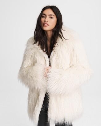 Rag & Bone Adelyn mongolian faux fur coat