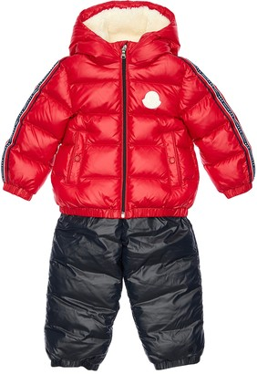 Moncler Scamandre Nylon Down Jacket & Pants