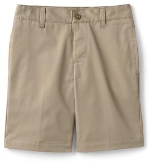 Lands' End Boys 4-20 Adaptive School Uniform Chino Shorts