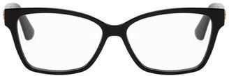 Gucci Black Rectangular GG Glasses