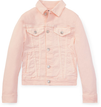 Ralph Lauren Pink Pony Denim Trucker Jacket