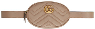 Gucci Pink GG Marmont 2.0 Belt Pouch