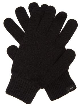 Paul Smith Cashmere-blend Gloves - Mens - Black