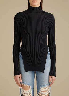 KHAITE The Jacque Sweater in Black