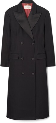 Tory Burch Oversized Twill Coat