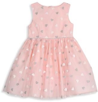 Pippa & Julie Baby's & Little Girl's Floating Heart Dress